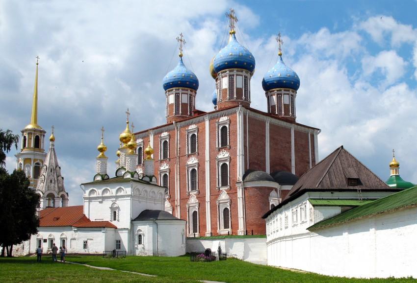 Кафедральный собор Успения Пресвятой Богородицы-Рязань-Рязань, город-Рязанская область