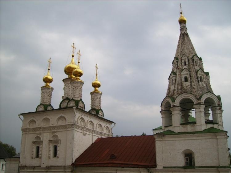 Спасо–Преображенский монастырь. Церковь Богоявления Господня, Рязань