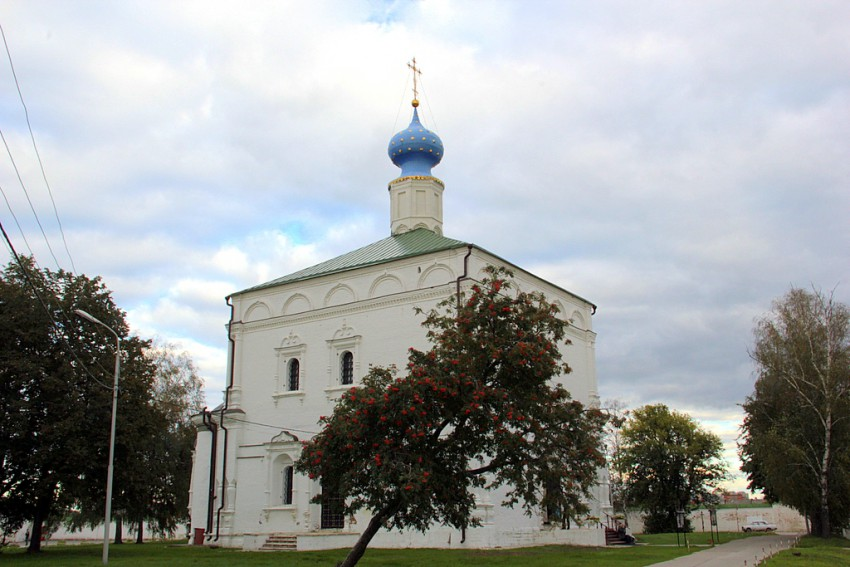Спасо–Преображенский монастырь. Собор Спаса Преображения, Рязань