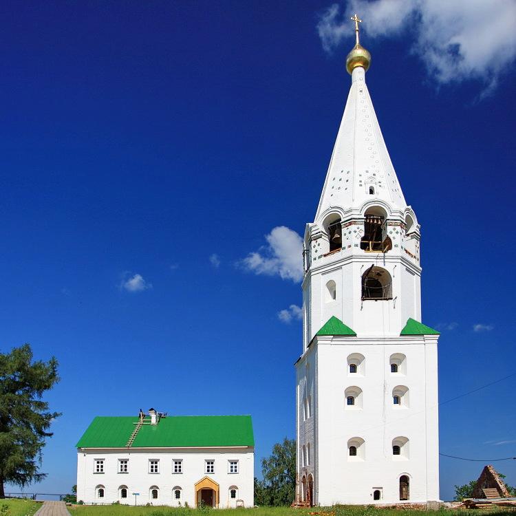Успенский мужской монастырь Флорищева пустынь, Фролищи