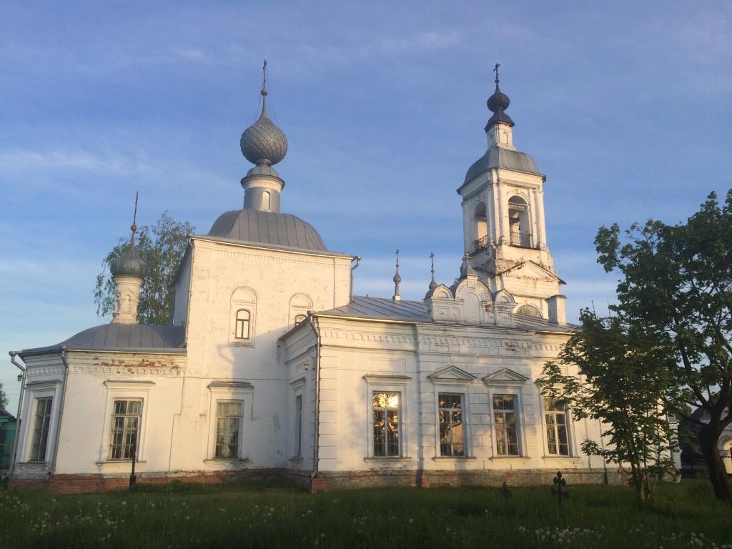 Церковь Воскресения Словущего, Толпыгино