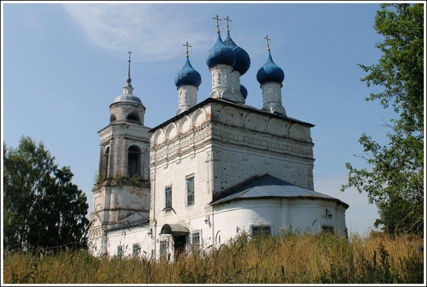 Церковь Спаса Нерукотворного Образа, Спасское