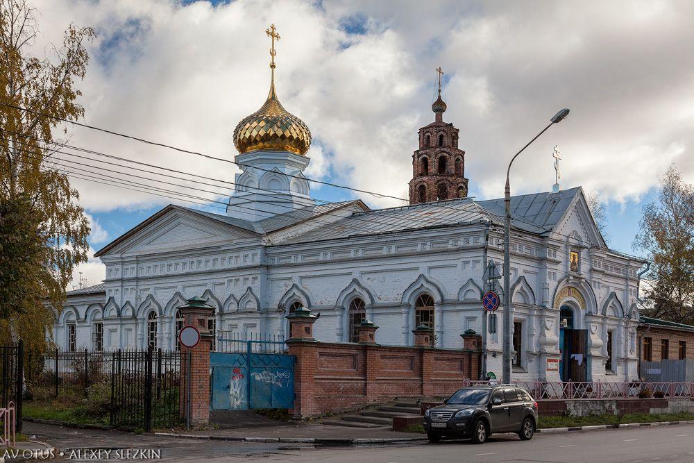 Ярославская область, Ярославль, город, Ярославль. Церковь Никиты мученика, фотография. фасады