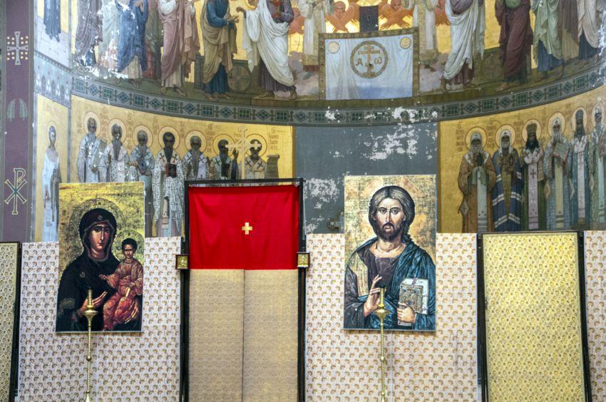 Прочие страны, Абхазия, Новый Афон. Новоафонский монастырь Симона Кананита, фотография. интерьер и убранство