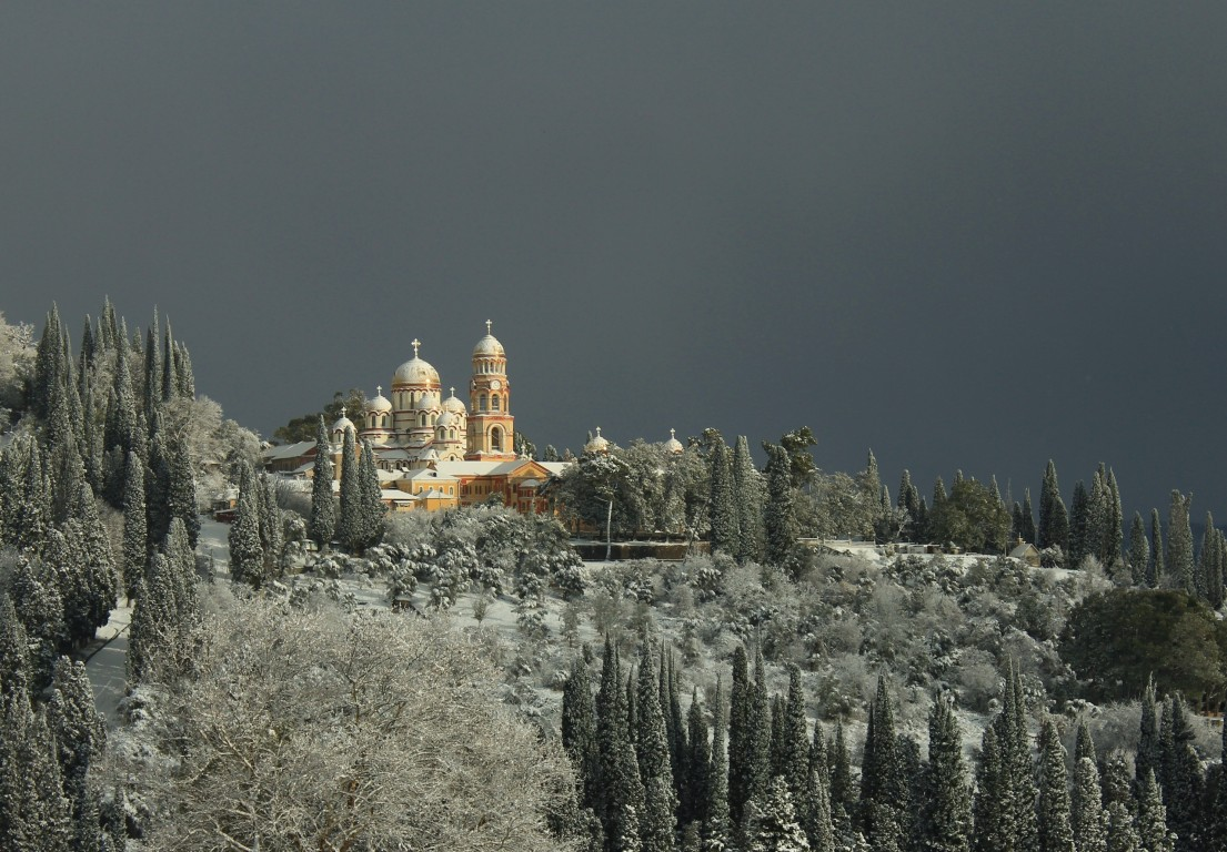 Новоафонский монастырь Симона Кананита, Новый Афон