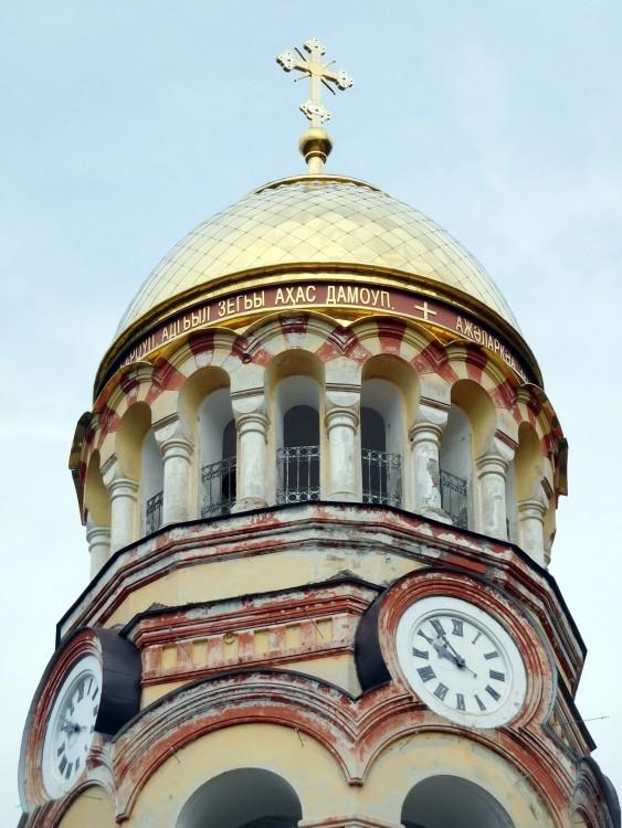 Прочие страны, Абхазия, Новый Афон. Новоафонский монастырь Симона Кананита, фотография. архитектурные детали, колокольня