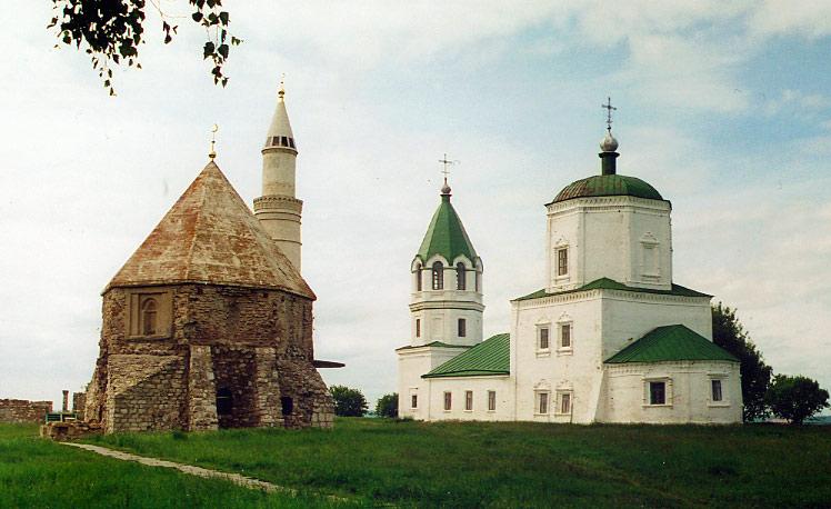 Комплекс быв. Успенского монастыря на городище Булгар, Болгар