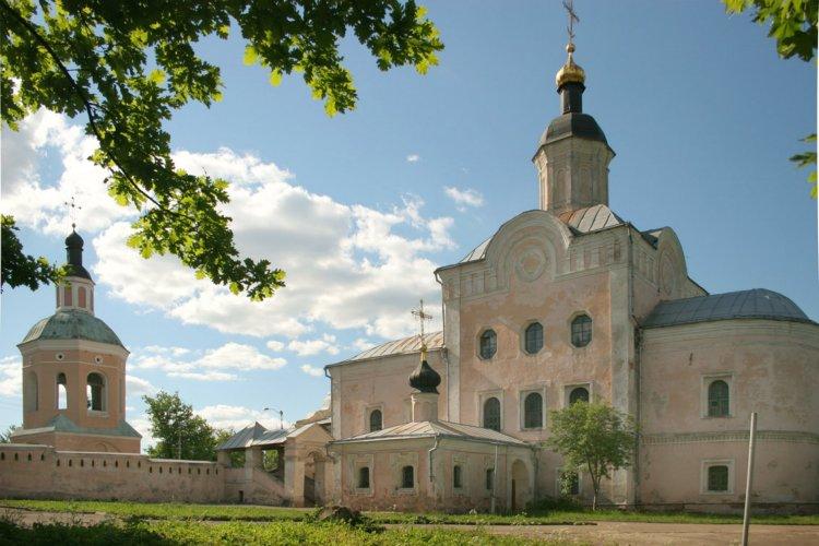 Смоленская область, Смоленск, город, Смоленск. Троицкий монастырь, фотография. общий вид в ландшафте,