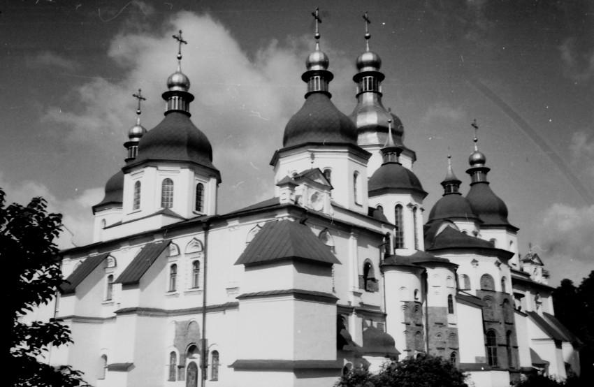 Украина, Киевская область, Киев, город, Киев. Собор Софии, Премудрости Божией, фотография. фасады