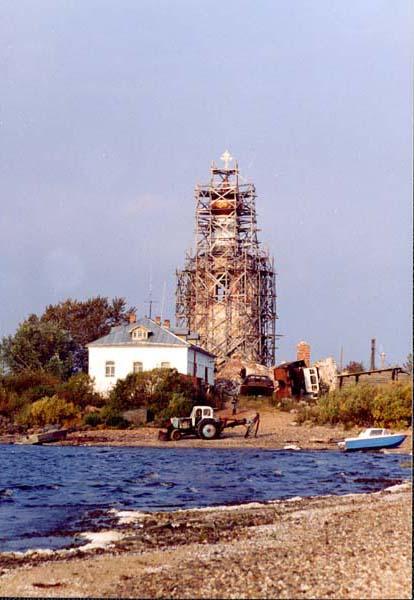 Спасо-Каменный Преображенский монастырь, Каменный, остров