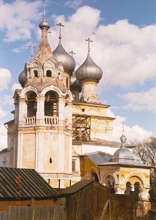 Вологодская область, Вологда, город, Вологда. Церковь Константина и Елены, фотография. фасады, с-з