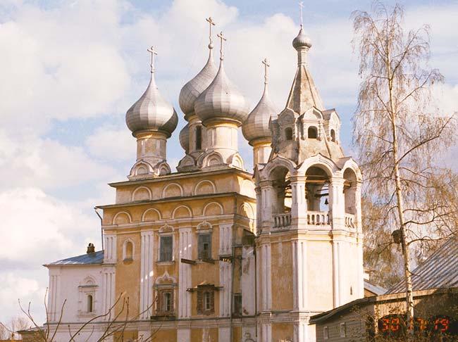 Вологодская область, Вологда, город, Вологда. Церковь Константина и Елены, фотография. фасады, север