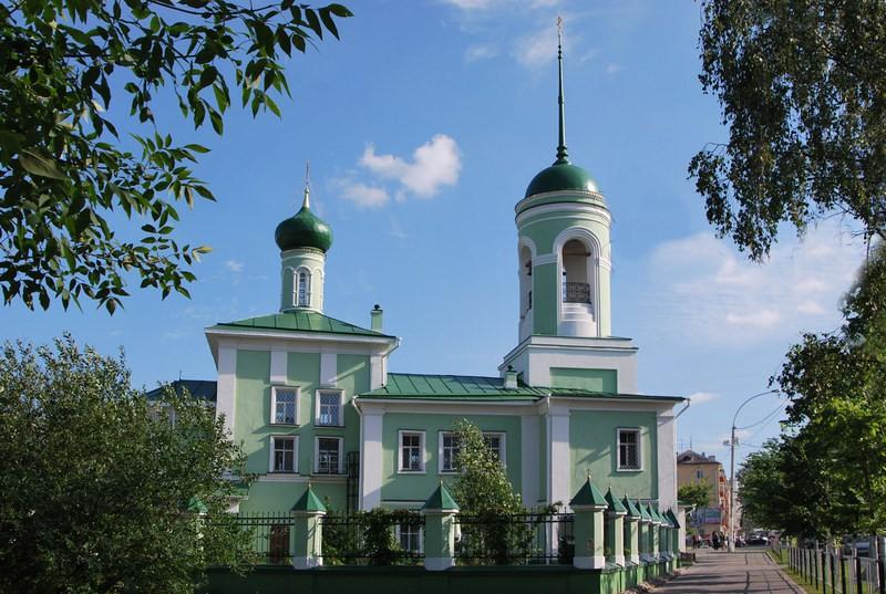 Церковь Николая Чудотворца на Глинках, Вологда