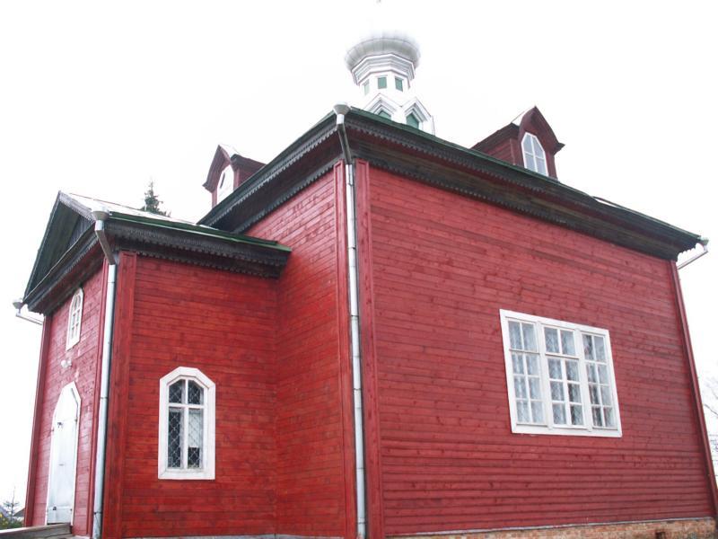 Ольгинский монастырь. Церковь Николая Чудотворца, Волговерховье
