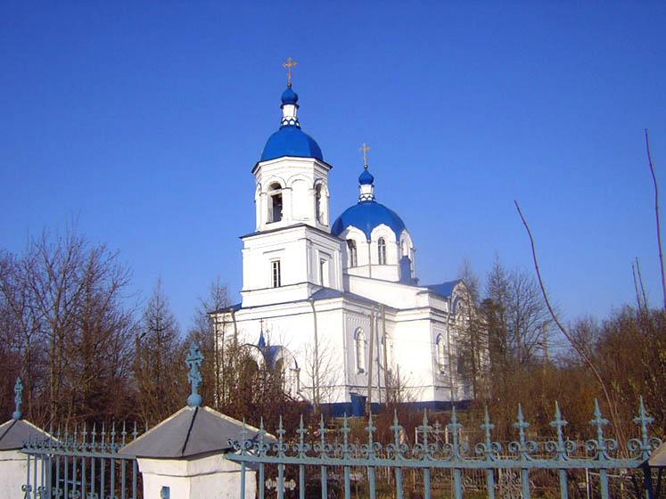 Церковь Воздвижения Креста Господня, Ополье