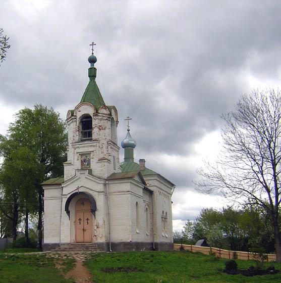 Троицкий скит. Церковь Троицы Живоначальной, Сенно