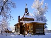 Сенно. Троицкий скит. Церковь Усекновения главы Иоанна Предтечи