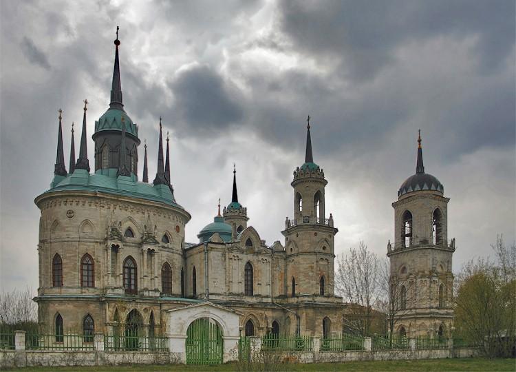 Церковь Владимирской иконы Божией Матери, Быково, село
