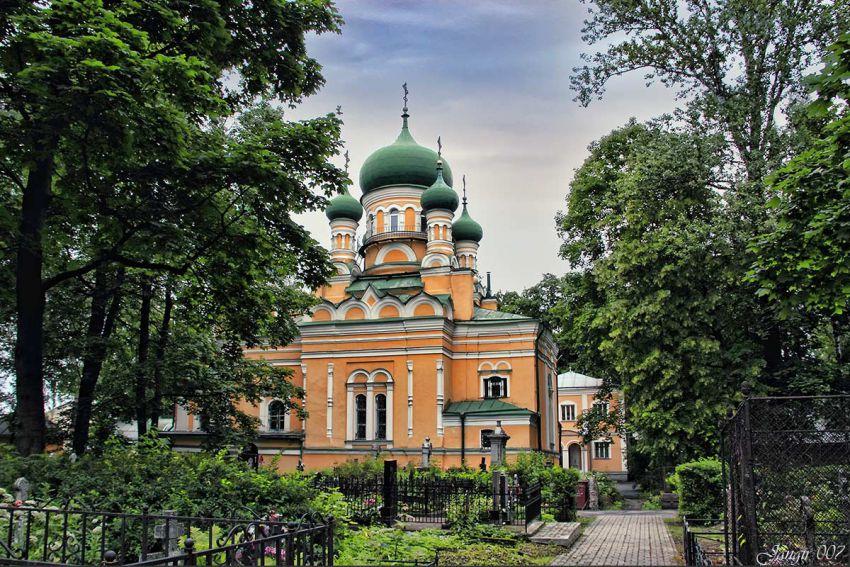Церковь Иова Многострадального, Санкт-Петербург