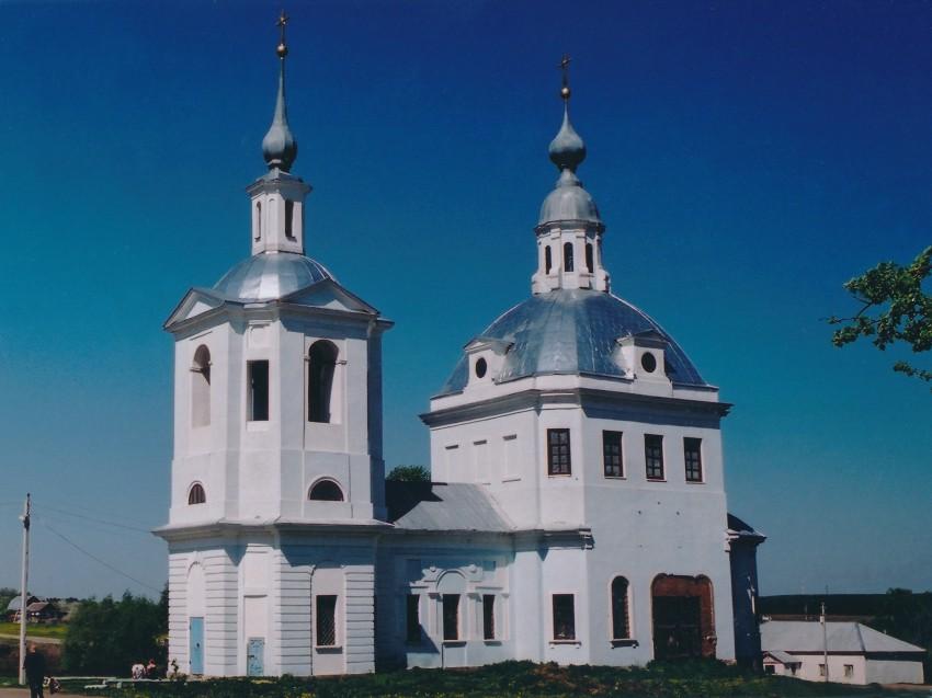 Московская область, Каширский городской округ, Кокино. Церковь Богоявления Господня, фотография. фасады