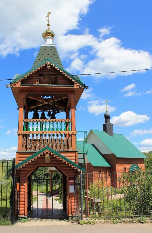 Московская область, Наро-Фоминский городской округ, Атепцево. Церковь Николая Чудотворца, фотография. фасады