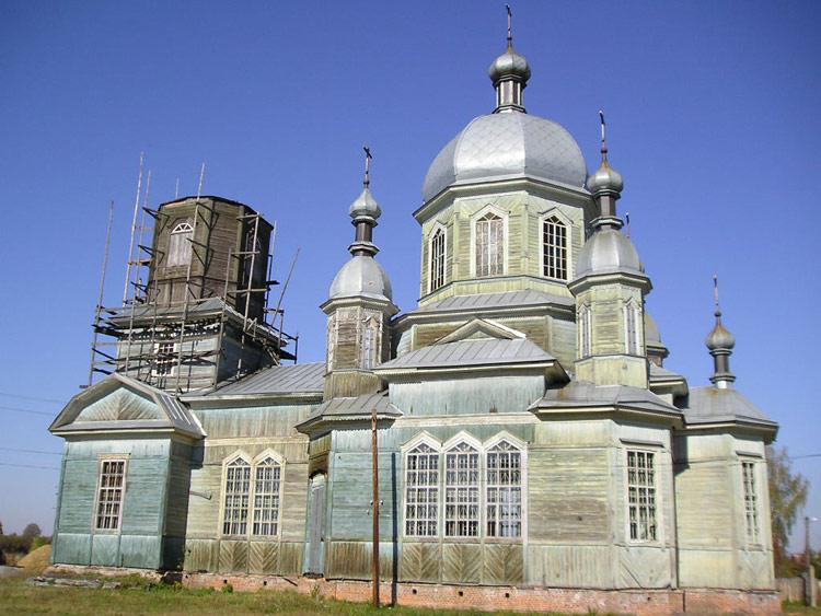 Церковь Георгия Победоносца, Елионка