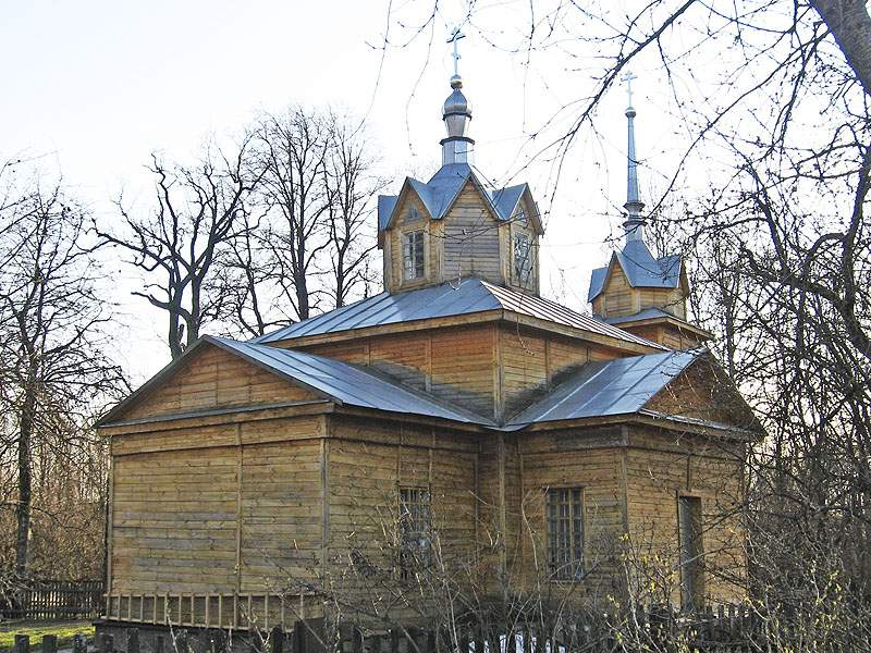 Брянская область, Унечский район, Рассуха. Церковь Всех Святых, фотография. фасады