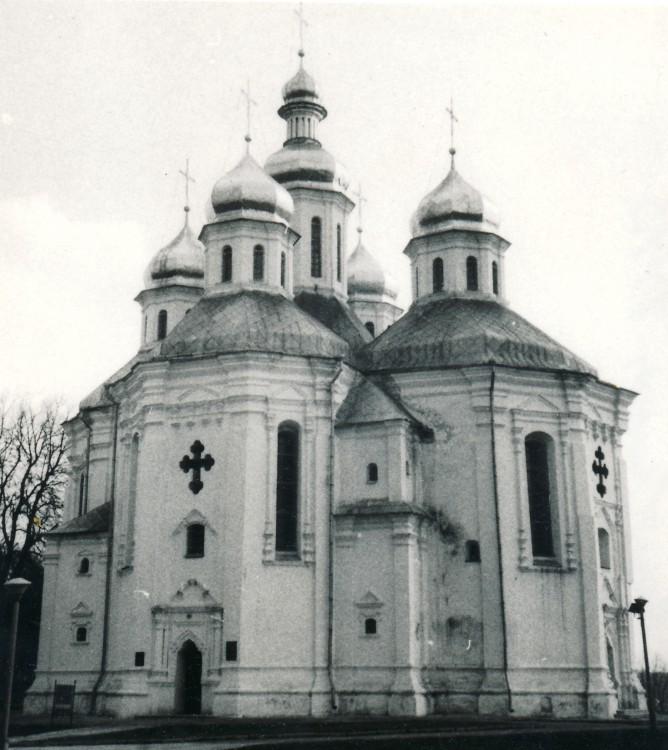Украина, Черниговская область, Чернигов, город, Чернигов. Церковь Екатерины, фотография. фасады