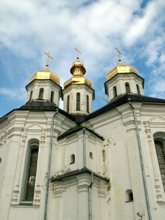 Украина, Черниговская область, Чернигов, город, Чернигов. Церковь Екатерины, фотография. архитектурные детали
