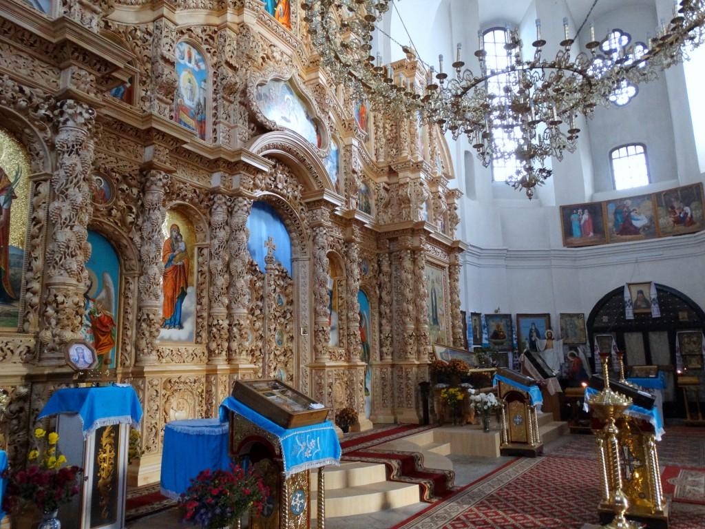 Украина, Черниговская область, Чернигов, город, Чернигов. Церковь Екатерины, фотография. интерьер и убранство