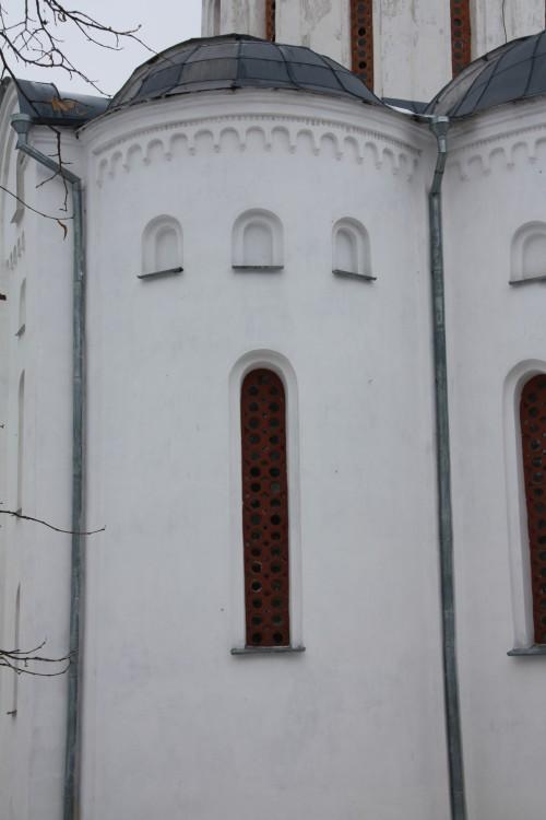 Украина, Черниговская область, Чернигов, город, Чернигов. Собор Бориса и Глеба, фотография. общий вид в ландшафте