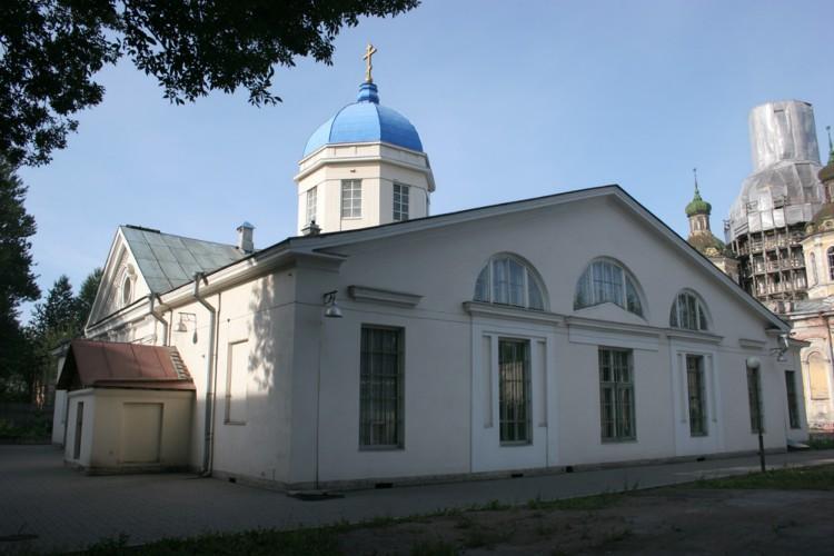 Церковь Тихвинской иконы Божией Матери Крестовоздвиженского Казачьего прихода, Санкт-Петербург