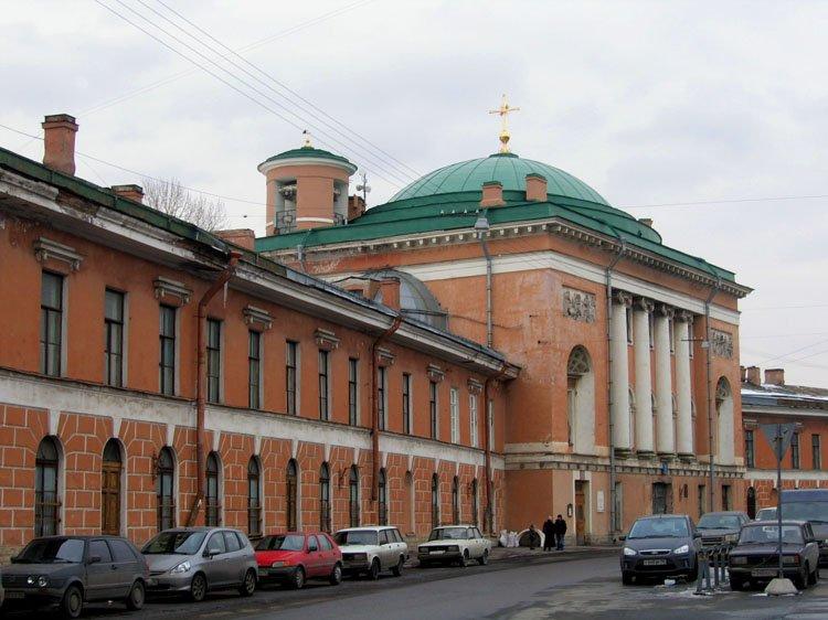 Церковь Спаса Нерукотворного образа в здании Конюшенного ведомства, Санкт-Петербург