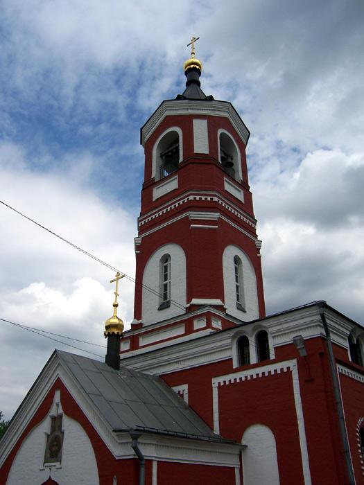 Церковь Троицы Живоначальной в Борисове, Москва