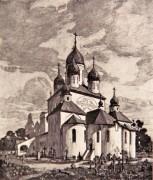 Советский район. Успения Пресвятой Богородицы на новом Бугровском кладбище, церковь