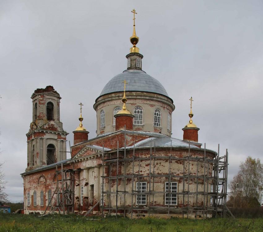 Церковь Спаса Преображения, Квашенки