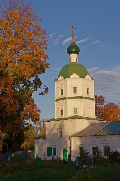 Нижегородская область, Балахнинский район, Балахна. Церковь Троицы Живоначальной, фотография. фасады