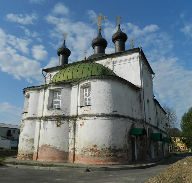 Покровский монастырь. Церковь Покрова Пресвятой Богородицы, Балахна