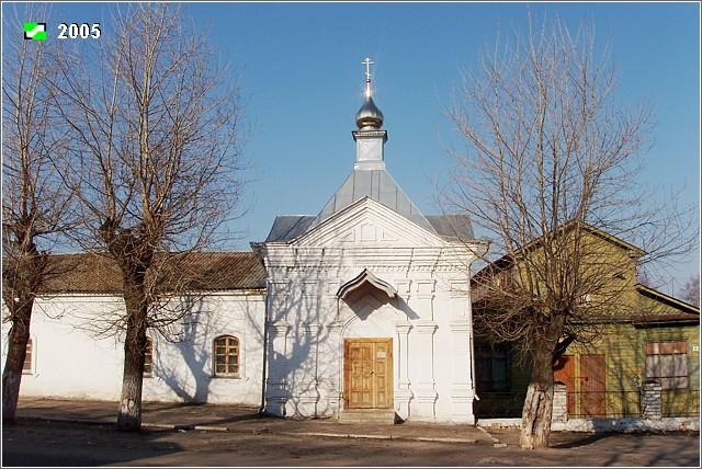 Богоявленский монастырь. Часовня Александра Невского, Мстёра