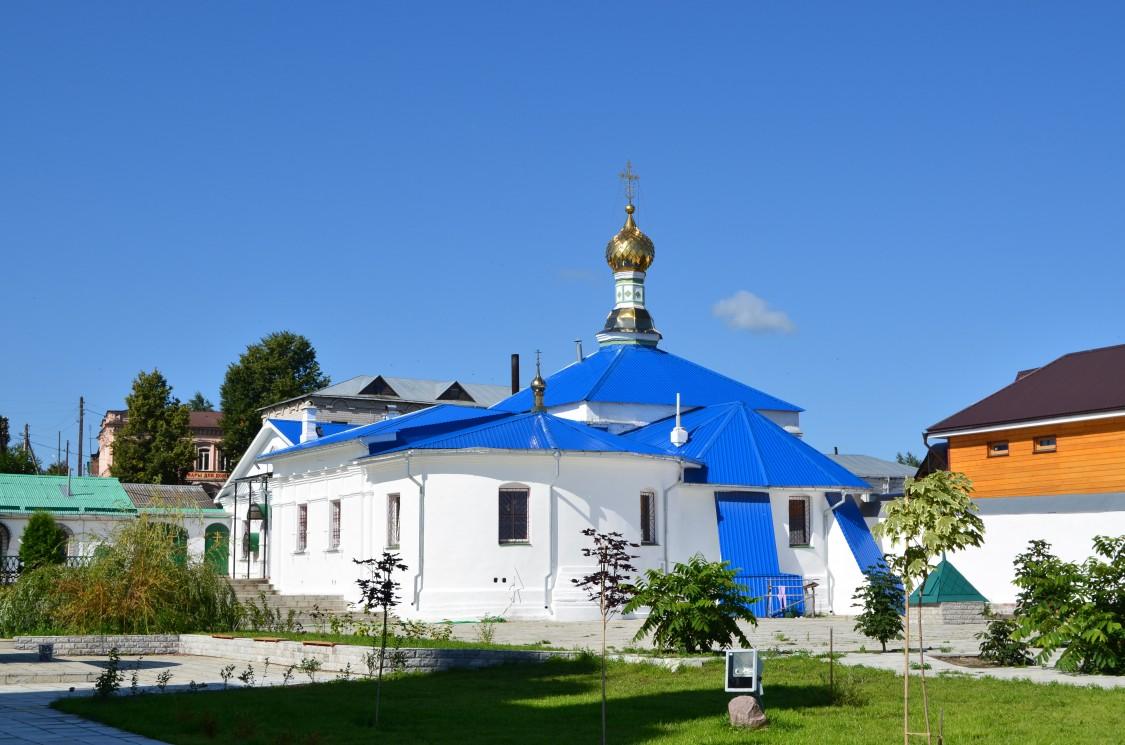 Богоявленский монастырь. Церковь Владимирской иконы Божией Матери, Мстёра