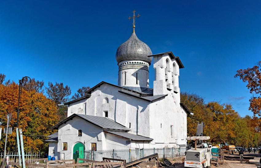 Церковь Петра и Павла с Буя-Псков-Псков, город-Псковская область