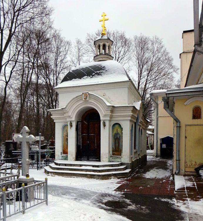 Часовня Александра Невского на Ваганьковском кладбище, Москва