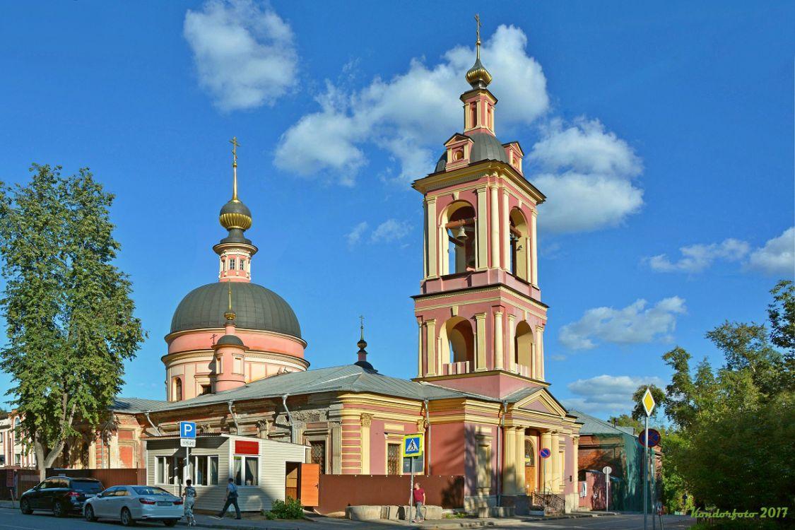 Церковь Ирины (Троицы Живоначальной) в Покровском-Басманный-Центральный административный округ (ЦАО)-г. Москва