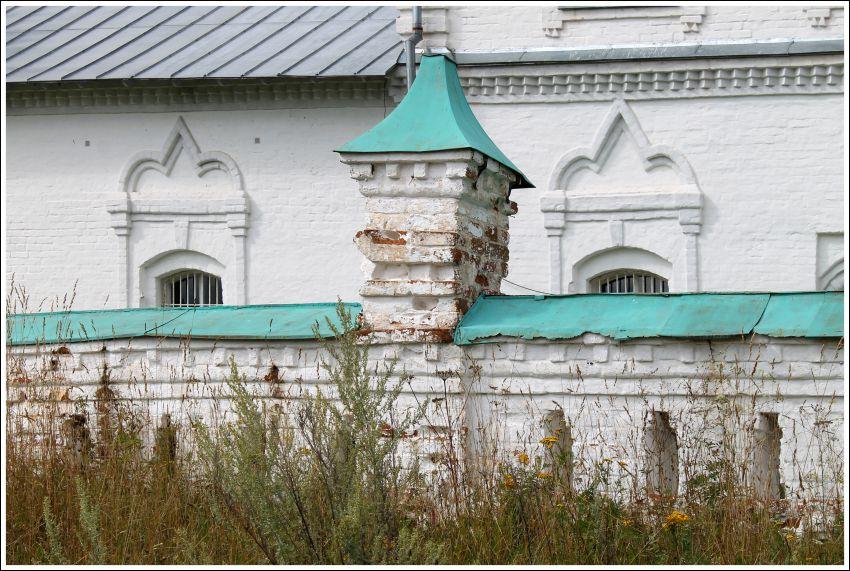 Храмовый комплекс. Церкви Николая Чудотворца и Покрова Пресвятой Богородицы, Санино
