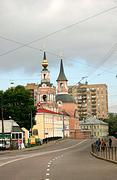 Церковь Петра и Павла в Новой Басманной слободе - Басманный - Центральный административный округ (ЦАО) - г. Москва