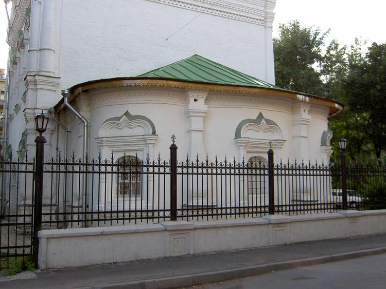 Церковь Спаса Преображения на Песках, Москва