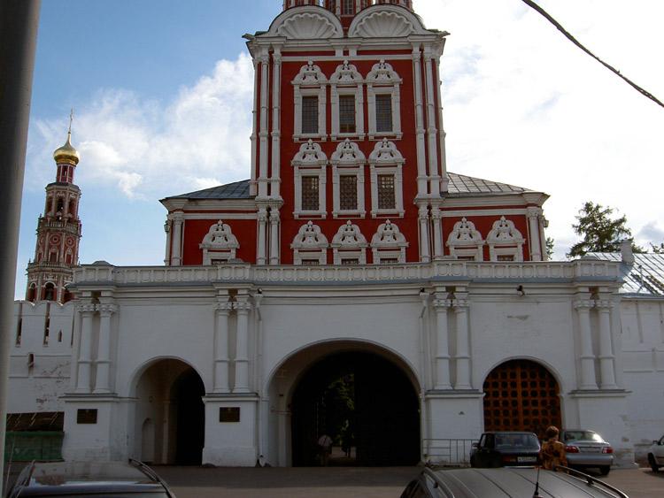 Новодевичий монастырь. Церковь Спаса Преображения, РњРѕСЃРєРІР°