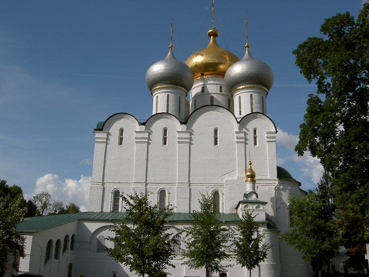 Новодевичий монастырь. Собор Смоленской иконы Божией Матери, Москва