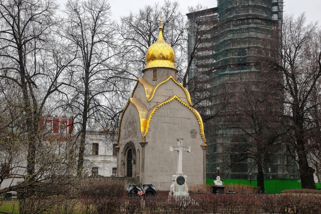 Новодевичий монастырь. Часовня-усыпальница Прохоровых, Москва