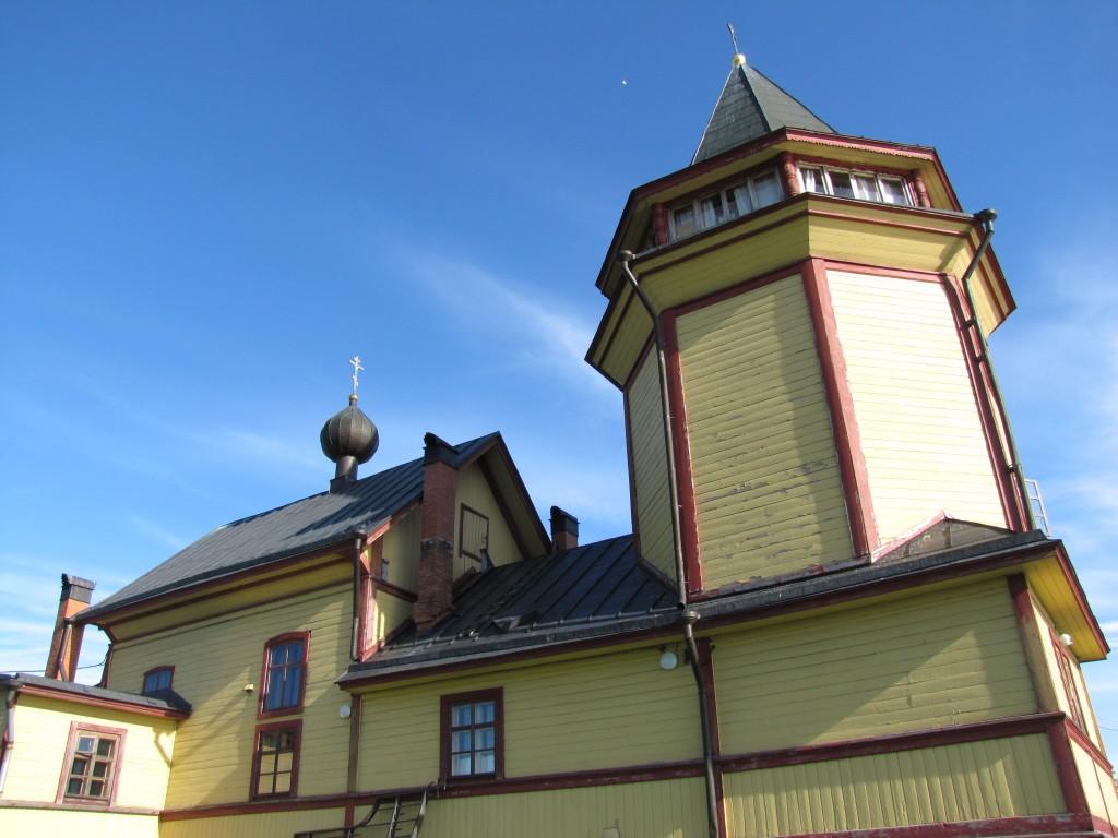 Церковь Николая Чудотворца на Риеккалансаари, Сортавала